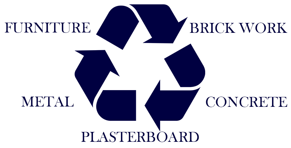 Salvage, Recycling, Brick Work, Concrete, Plasterboard and Scrap Metal